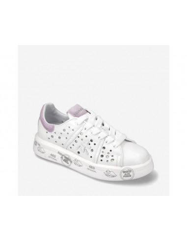Inuikii Sneaker Cuña Pelo y Flecos