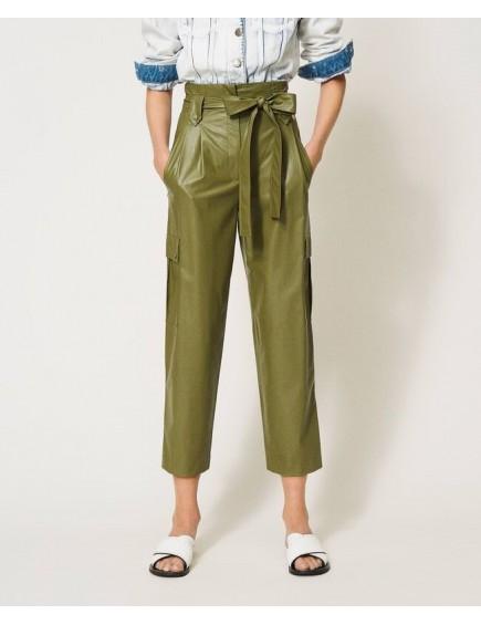 Pantalón Polipiel Verde