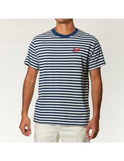 Camiseta Indigo Stripes