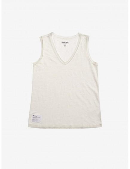 Camiseta Tirantes Lino