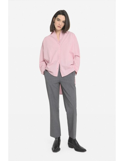 Camisa Acampanada Rosa