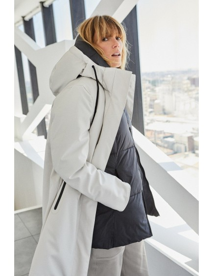 Abrigo pelo blanco - TETE BY ODETTE