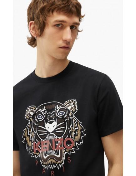 Camiseta Tigre Negro
