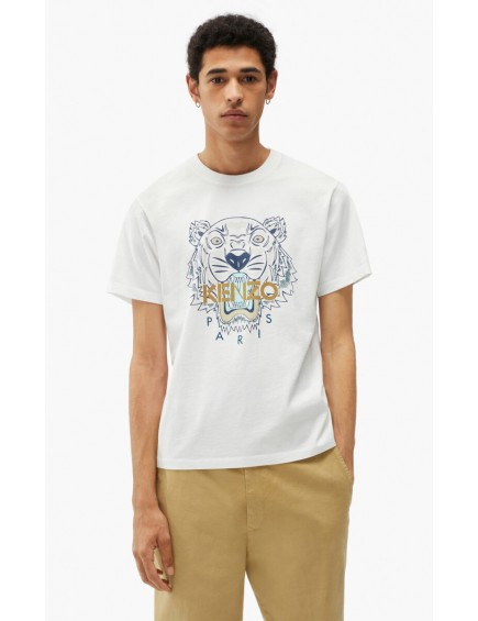 Camiseta Tigre Blanco