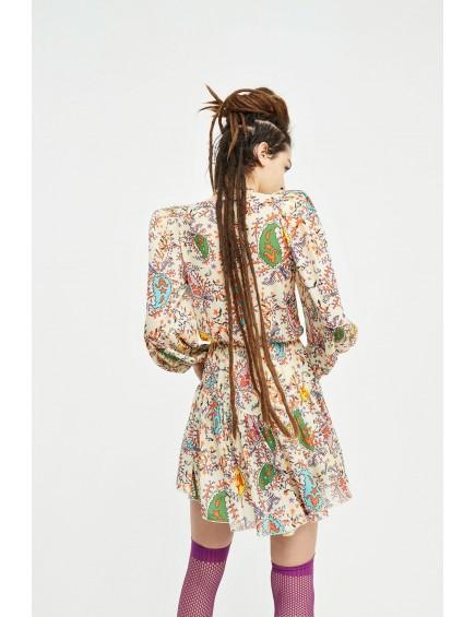 Vestido Elettra Crudo