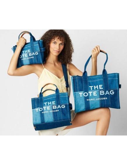 The Denim Small Tote Bag Blue