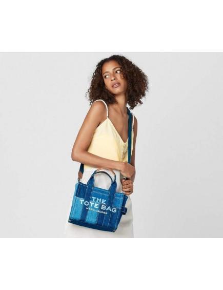 The Denim Mini Tote Bag Blue