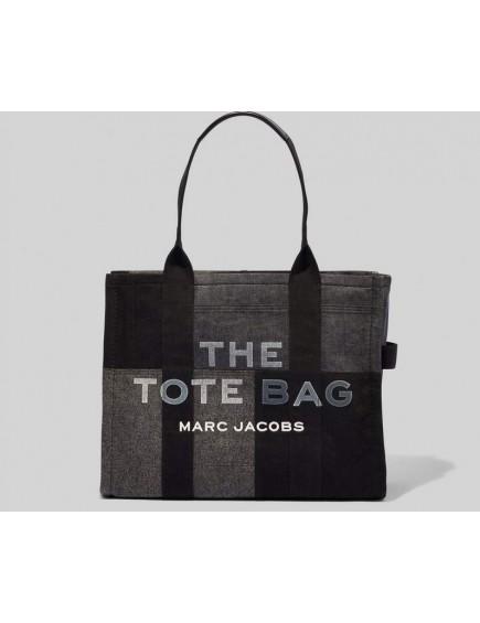 The Denim Tote Bag Black