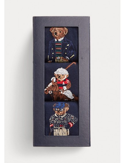 Pack Calcetines Polo Bear Navy