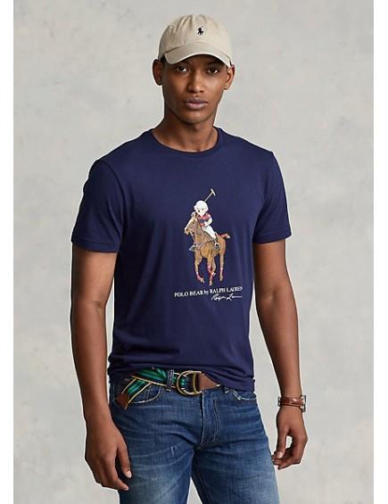 Camiseta Polo Bear Navy