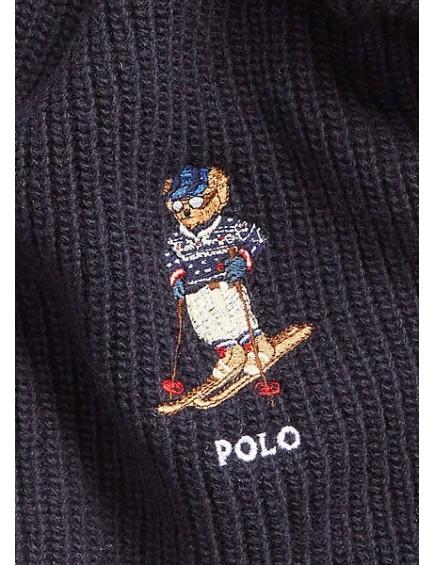 Bufanda Polo Bear Azul Marino